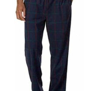 NWT-Nautica Navy red green flannel sleep pant